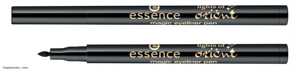 Essence Lights of Orient magic eyeliner pen Collage
