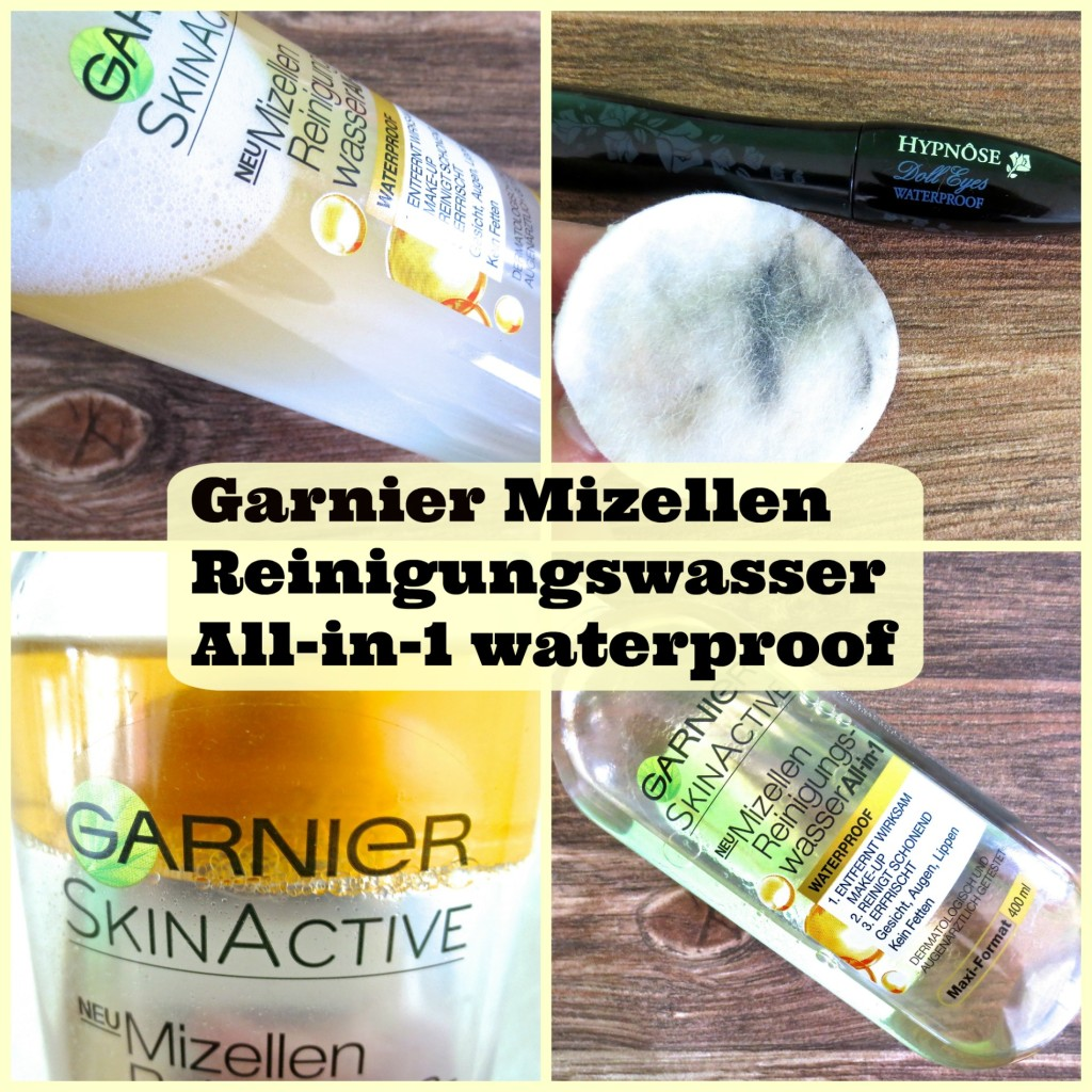 Garnier Mizellen Reinigungswasser All-in-1 waterproof: Mein Review