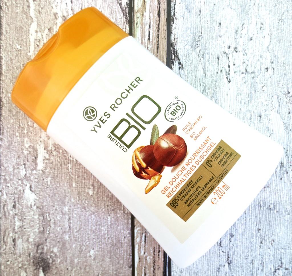 Yves Rocher Culture Bio aufbauendes Duschgel mit Bio Arganöl