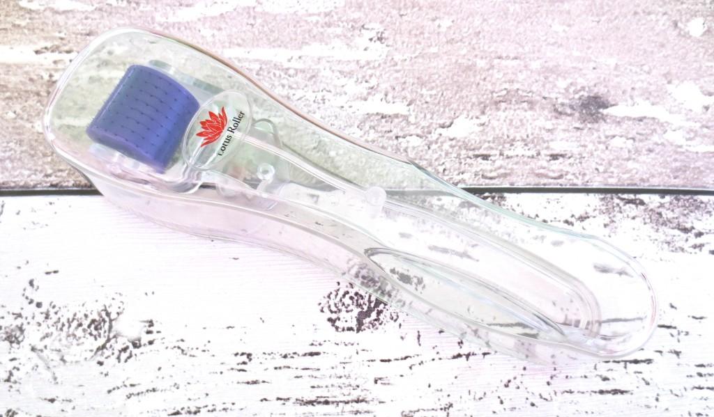 White Lotus Anti Aging Lotus Roller Transdermal Roller Micro Needling