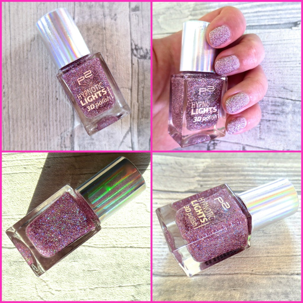 Neu bei dm: P2 Hypnotic Lights 3D Polish Holo Nagellack