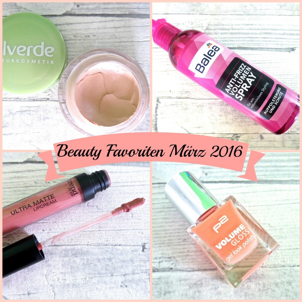 Meine Beauty Favoriten im März 2016