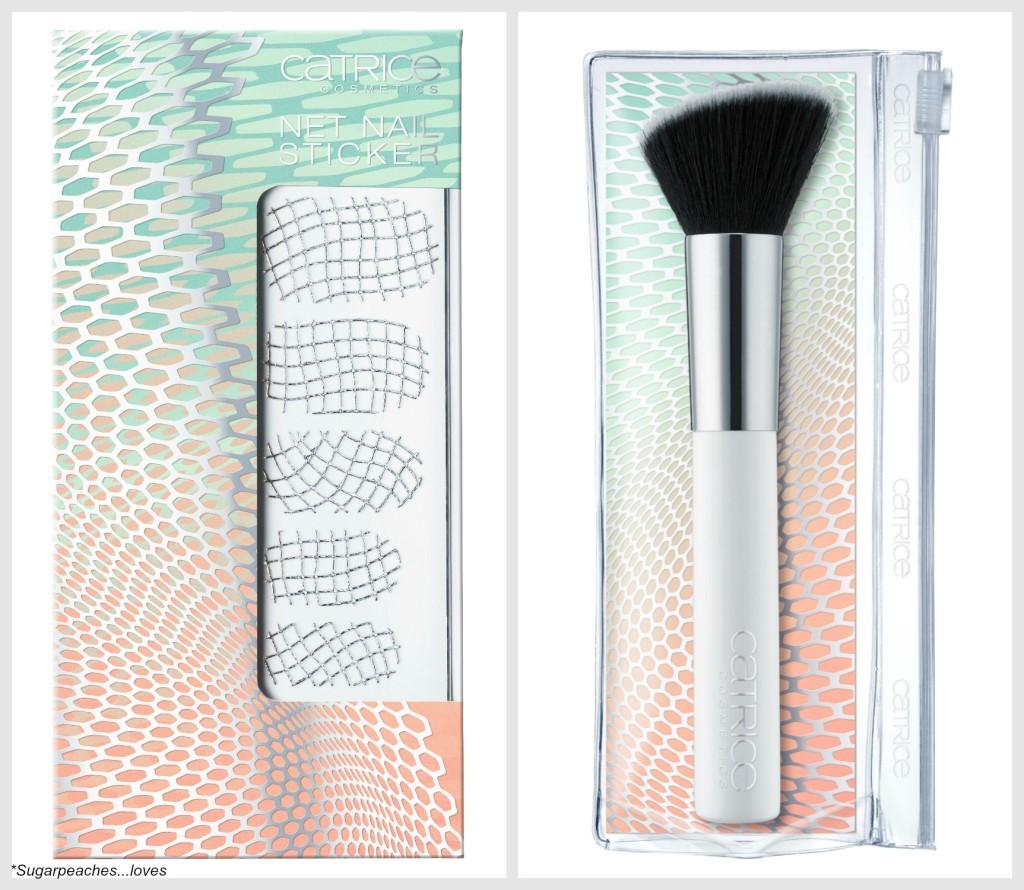 Catrice Net Works Brush und Net Nail Sticker Collage