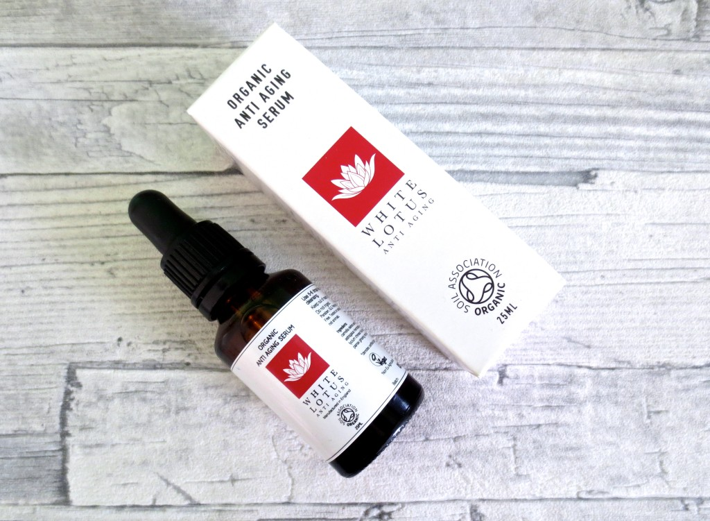 White Lotus Anti Aging Organic Serum