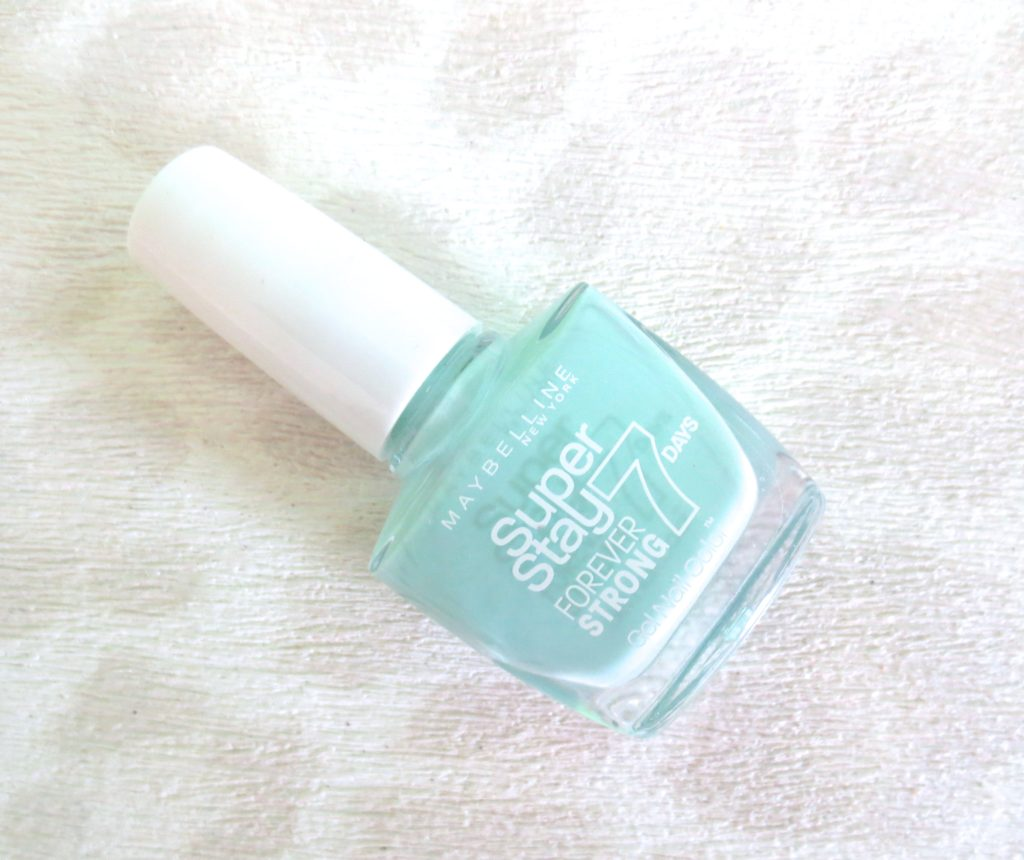 Maybelline Super Stay Gel Nail Polish 615 mint for life