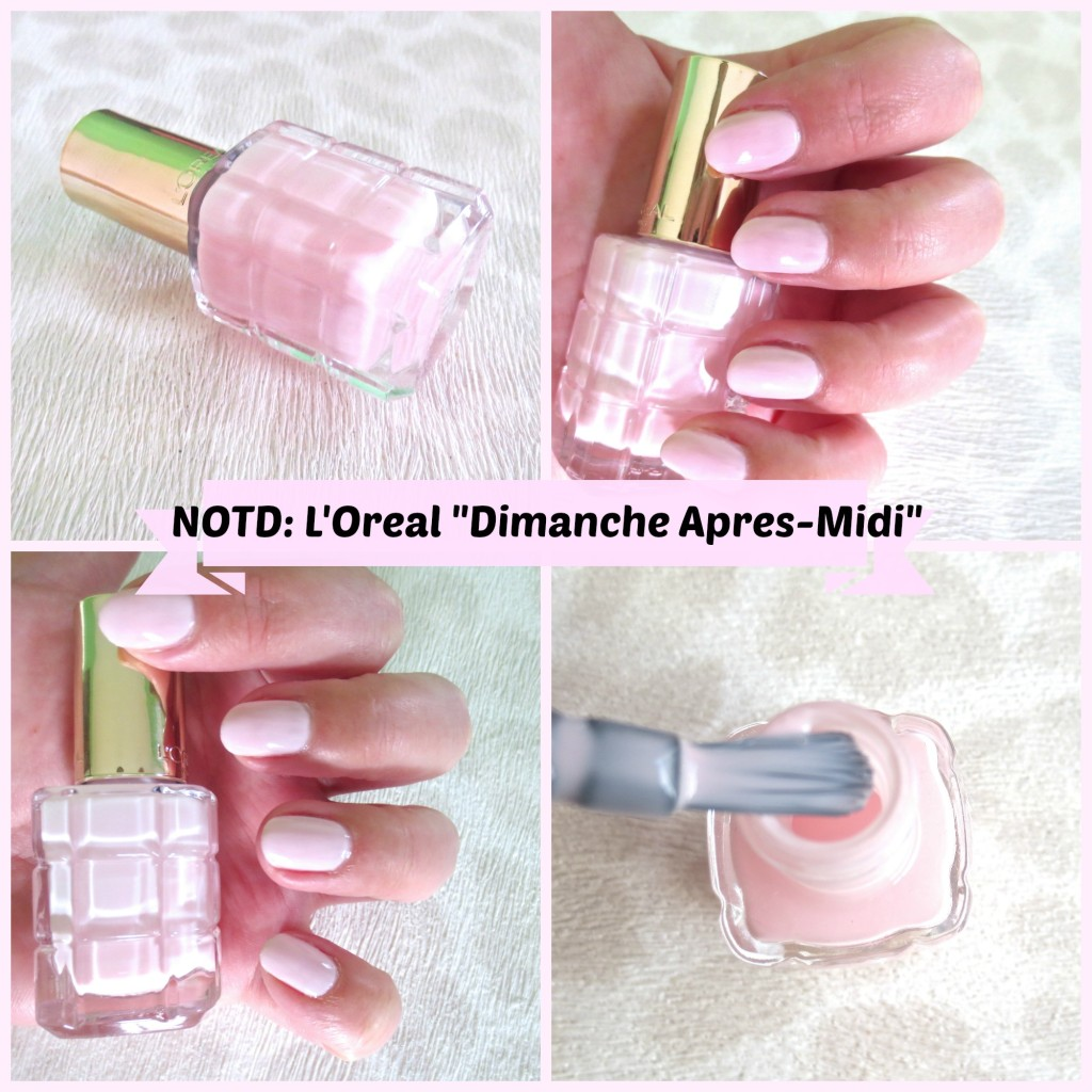 L'Oréal Color Riche Le Vernis Nagellack mit Öl NOTD 220 Collage