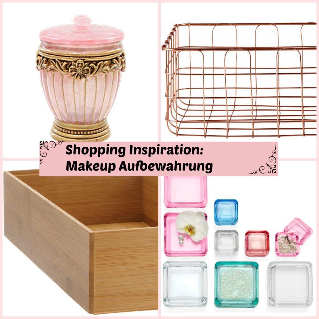 Online Shopping Wunschliste: Ideen für die Makeup Aufbewahrung (sponsored)