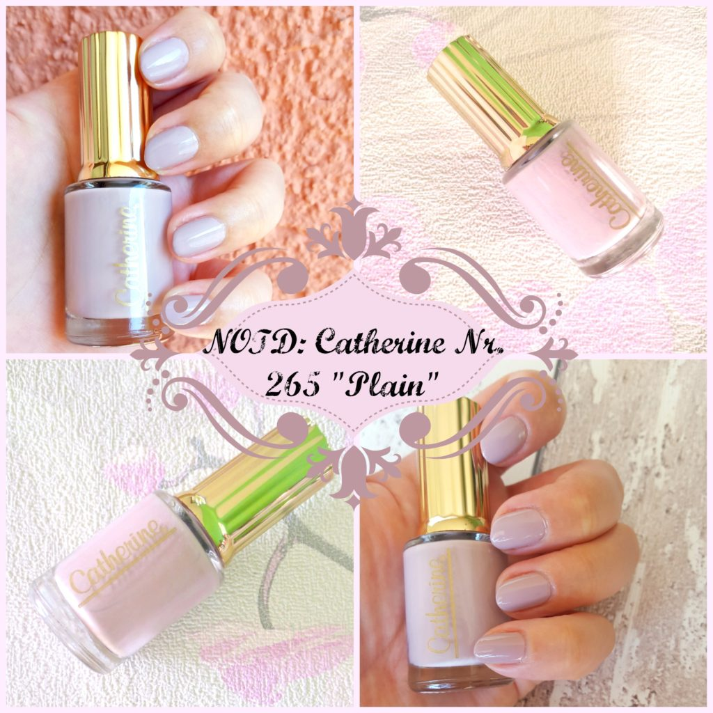 "NOTD: Catherine Divine Box Nr. 265 ""Plain"""