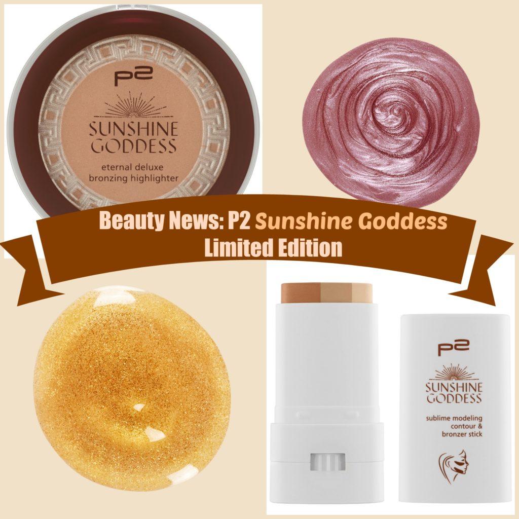Beauty News: P2 Sunshine Goddess Limited Edition