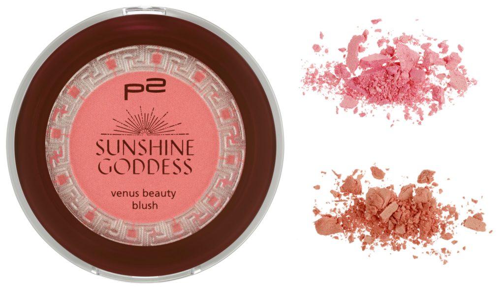 P2 Sunshine Goddess venus beauty blush Collage