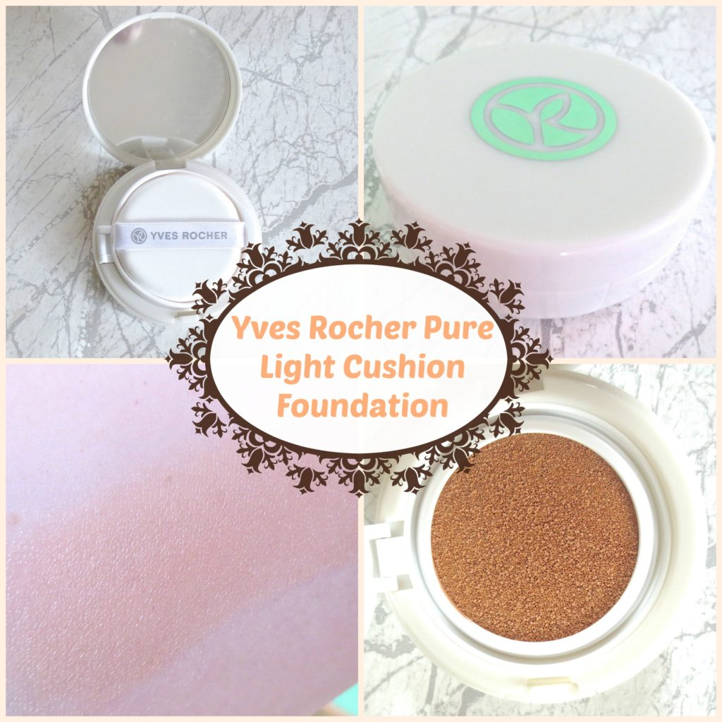New In: Yves Rocher Pure Light Cushion Foundation