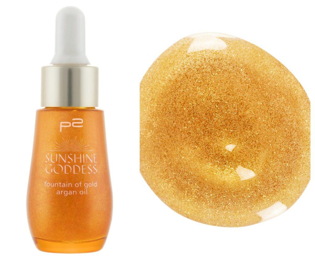 p2 Sunshine Goddess fountain of gold argan oil Collage