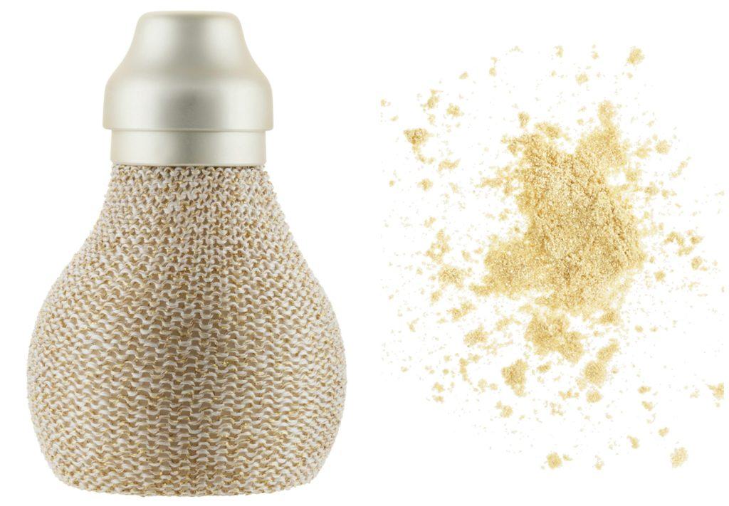 p2 Sunshine Goddess golden allure powder dust Collage