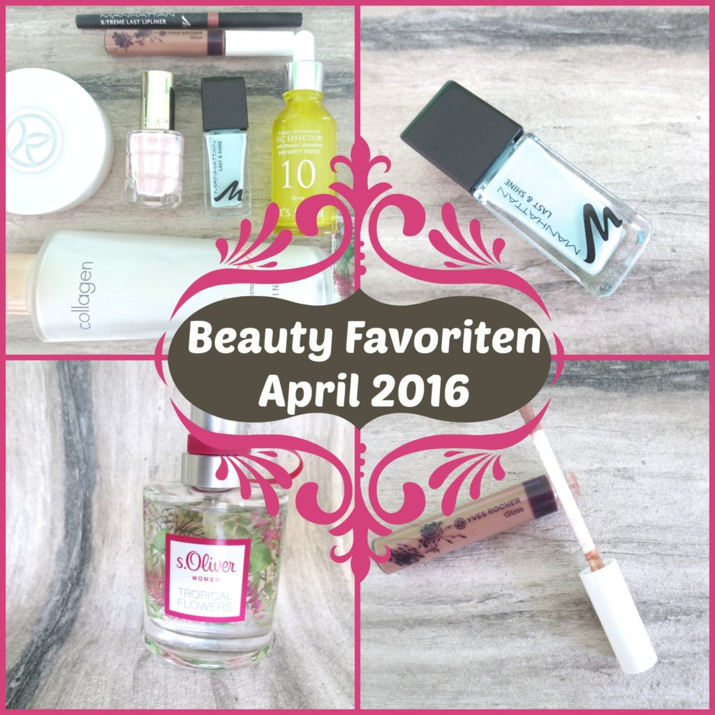 Beauty Favoriten April 2016 Collage