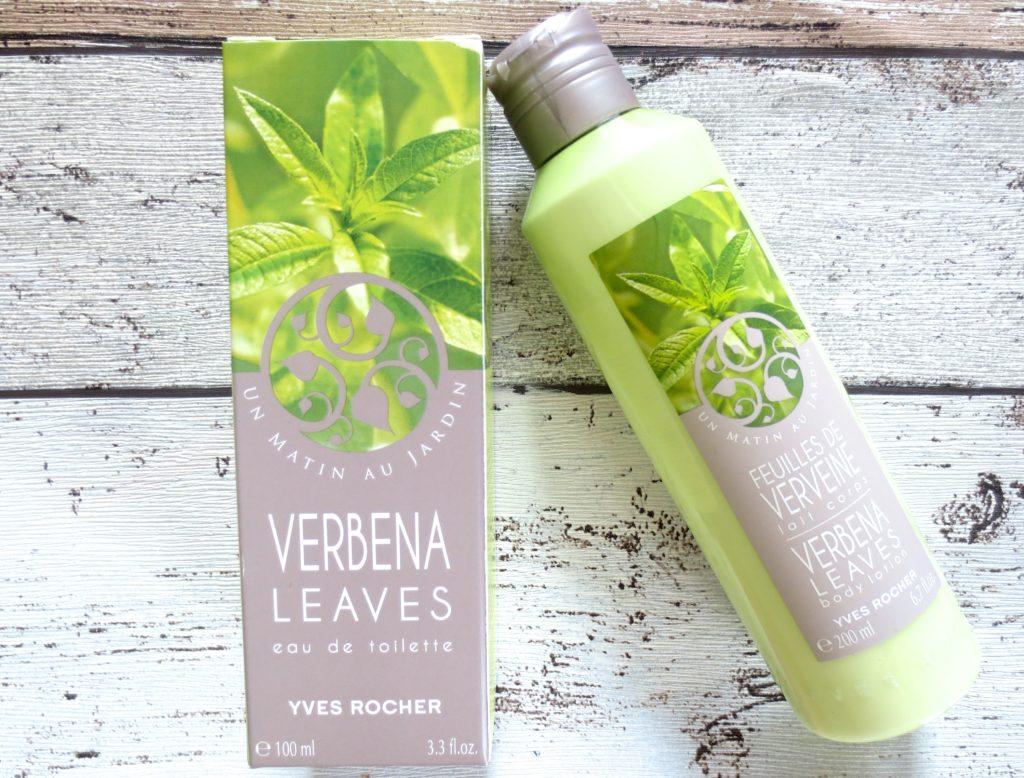 Duft dienstag yves rocher un matin au jardin verbena leaves for Jardin yves rocher