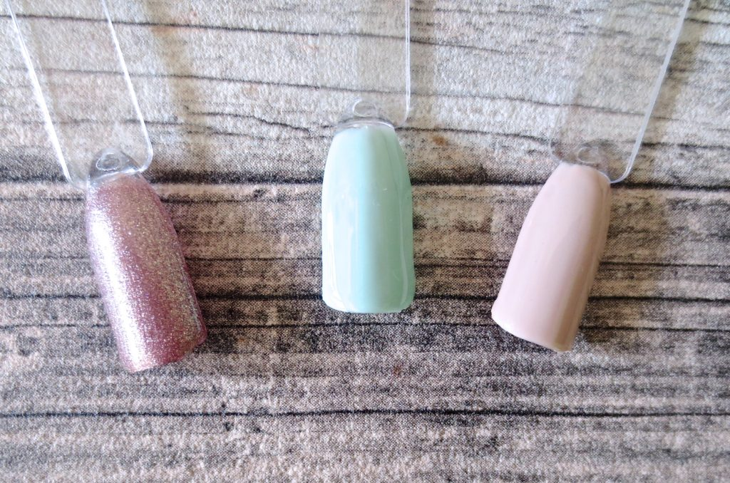 Madam Glam One Step Gel Polish Swing All Night, Minty Glam, Delicate Beauty