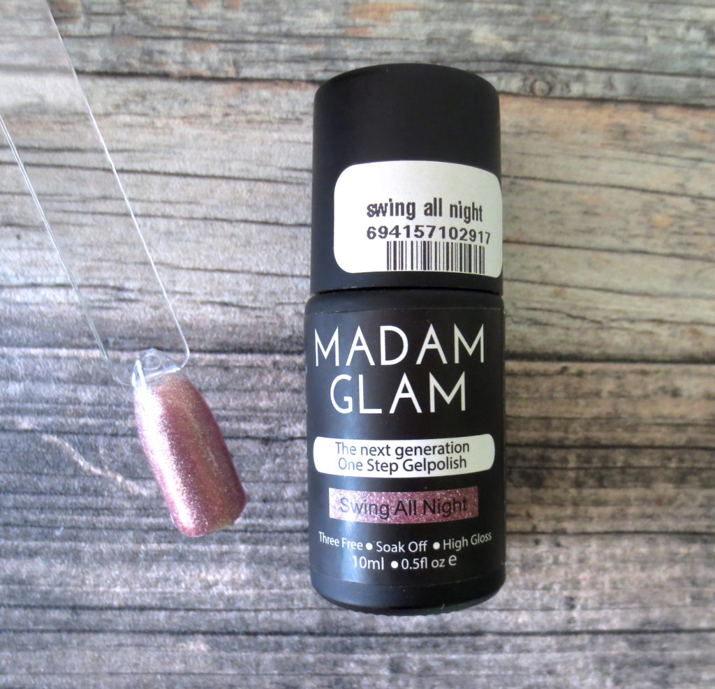 Madam Glam One Step Gel Polish Swing All Night