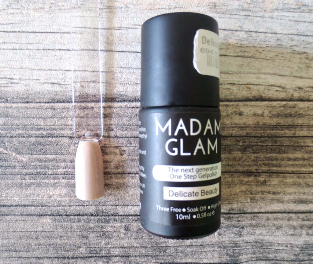 Madam Glam One Step Gel Polish Delicate Beauty