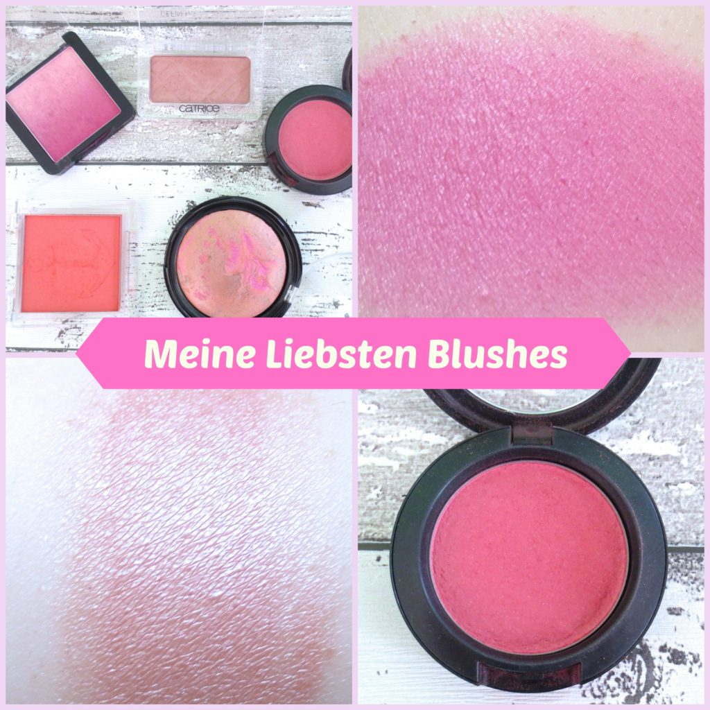Meine liebsten Blushes 2016 Collage