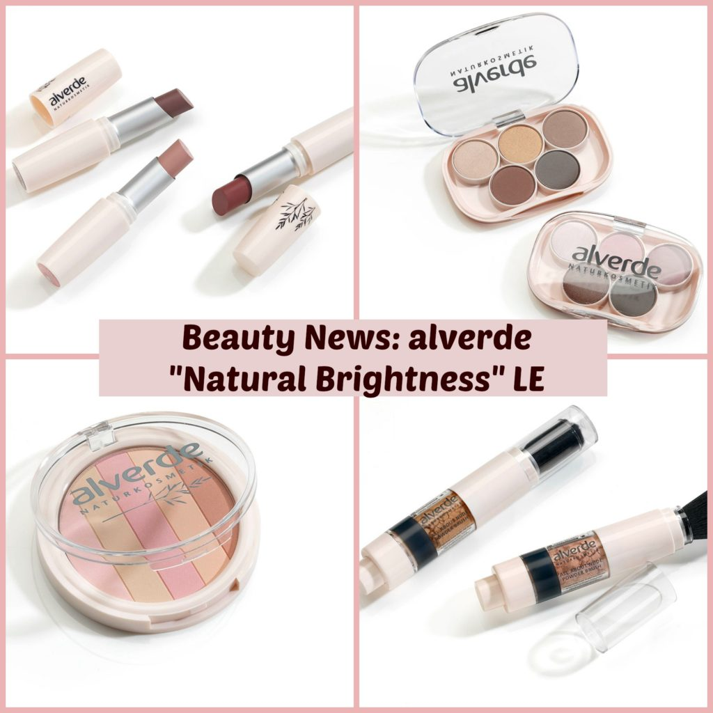 Beauty News: alverde Natural Brightness Limited Edition