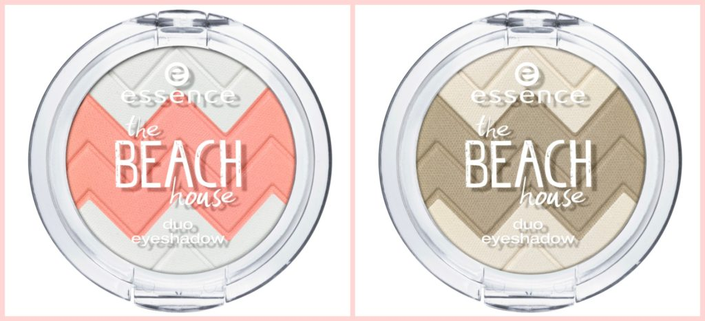 essence the beach house duo eyeshadow Collage