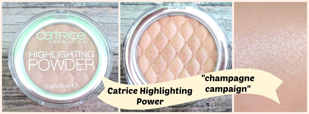 "Catrice Highlighting Powder ""champagne campaign"" – neuer Glow-Liebling!"