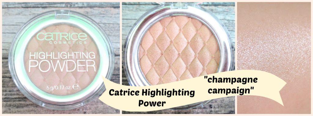 Catrice Highlighting Powder Collage