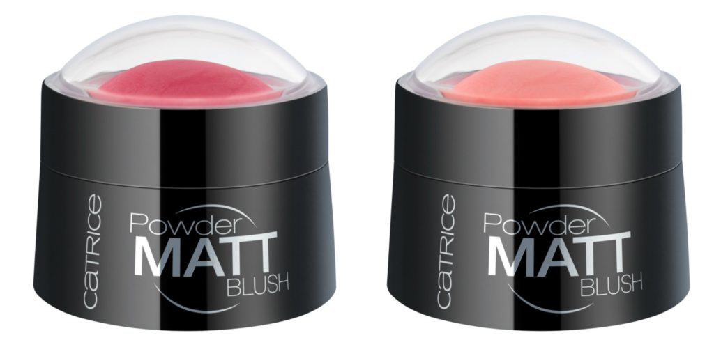 Catrice Neuheiten Herbst 2016 Powder Matt Blush Collage