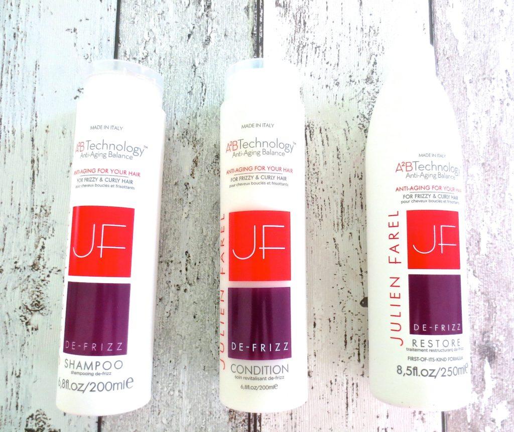 Julien Farel anti-aging Haarpflege System De-Frizz