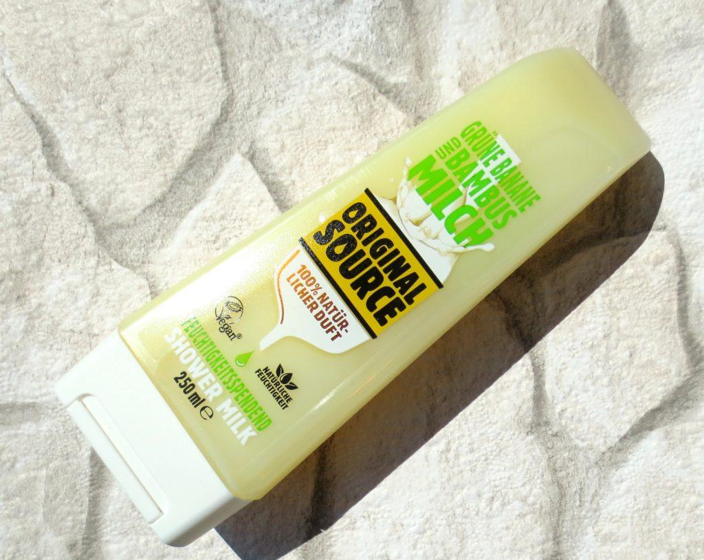 Original Source Shower Milk grüne Banane und Bambusmilch 2