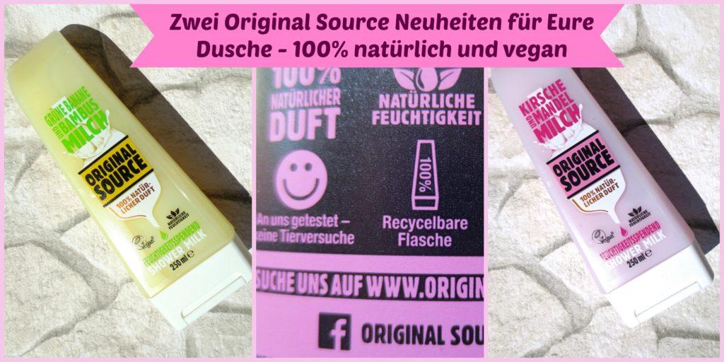Ausprobiert: Original Source Shower Milk – Grüne Banane und Kirsche