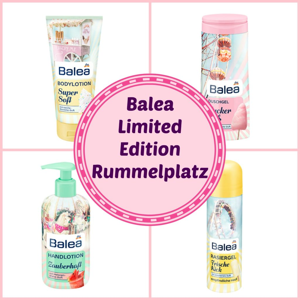 Balea Limited Edition Rummelplatz Collage