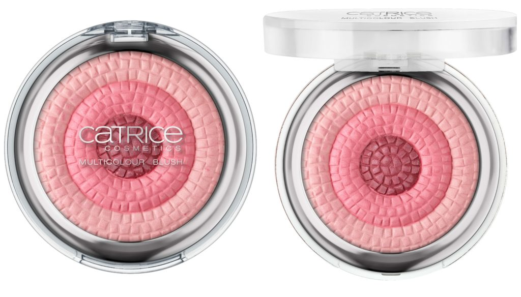 Catrice Retrospective Multicolour Blush Collage