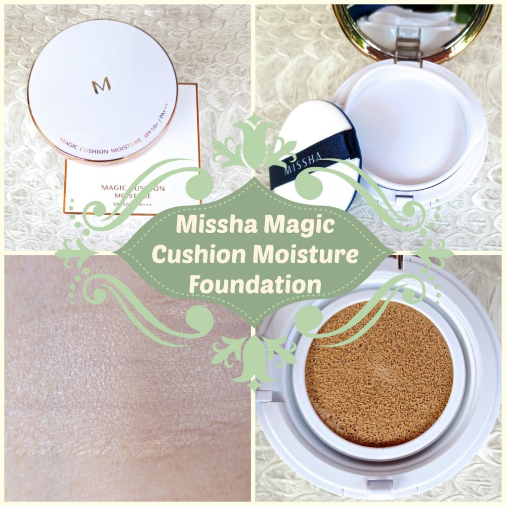Missha Magic Cushion Moisture Foundation Collage
