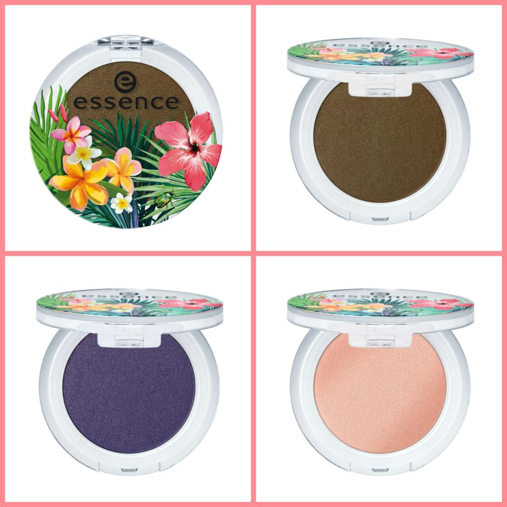 essence exit to explore eyeshadow Collage