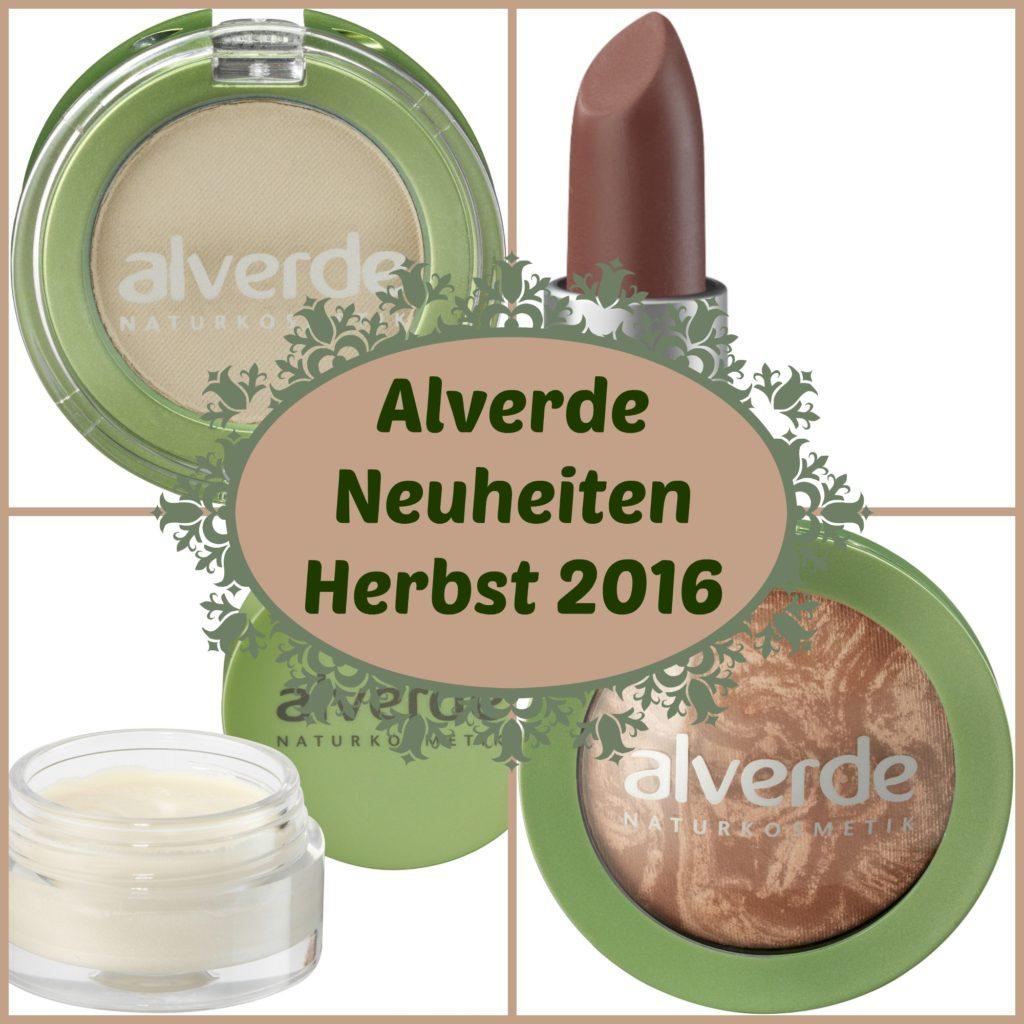 Alverde Neuheiten Herbst 2016 – Beauty News