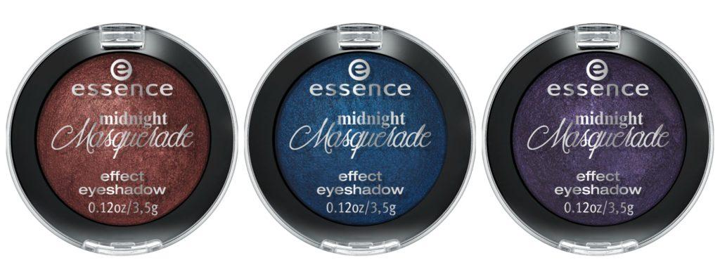 Essence Midnight Masquerade effect eyeshadow Collage