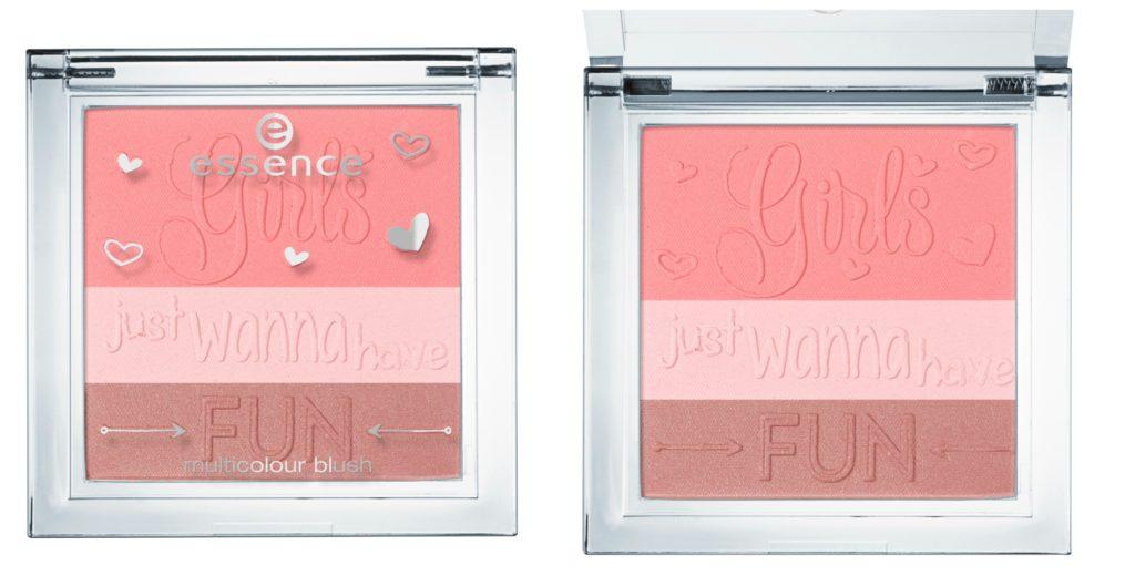 Essence girls just wanna have fun multicolour blush Collage