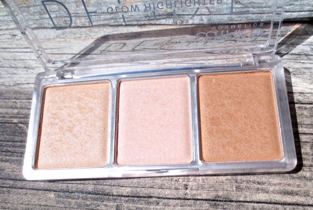 Catrice Sortiments Neuheiten Herbst 2016 Deluxe Glow Highlighter Palette 010 the glowrious three