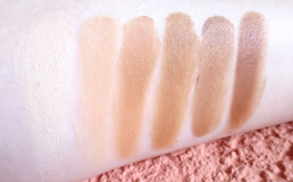Sleek Makeup Cream Contour Kit medium Swatches