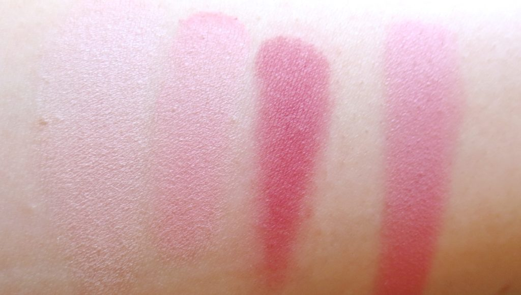 Catrice Retrospective multicolour Blush Swatches