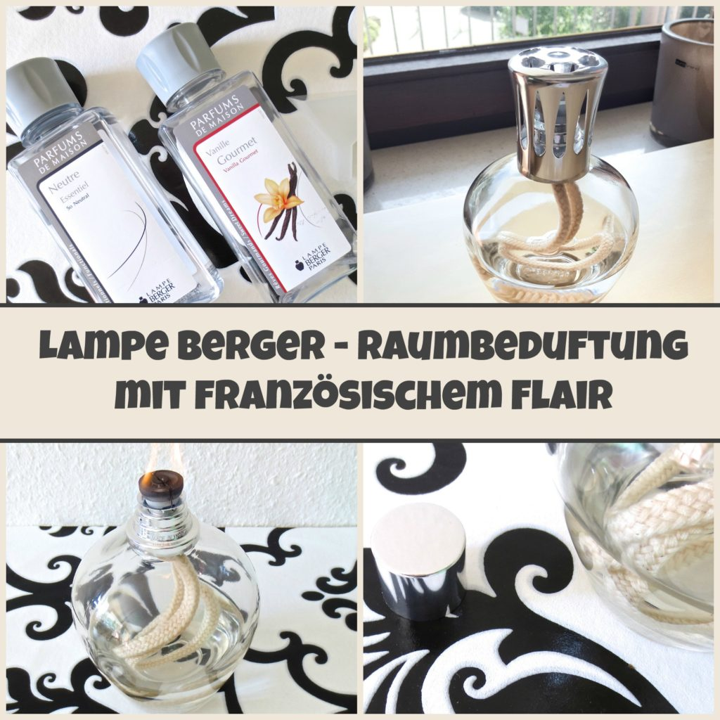 Lampe Berger Raumbeduftung Collage