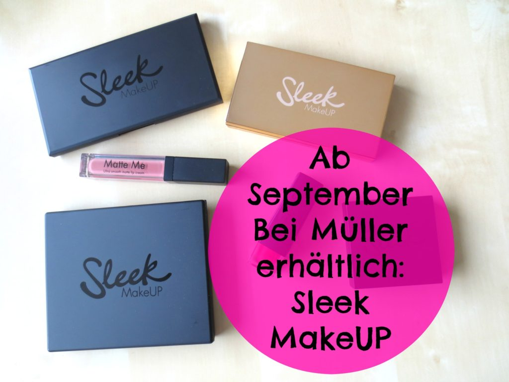 Sleek Makeup bei Müller 2016