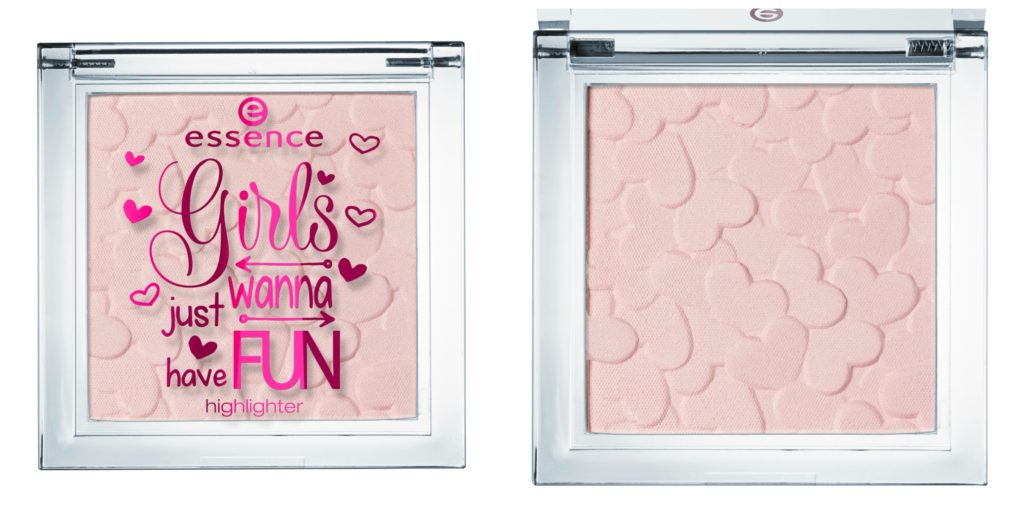essence girls just wanna have fun highlighter Collage