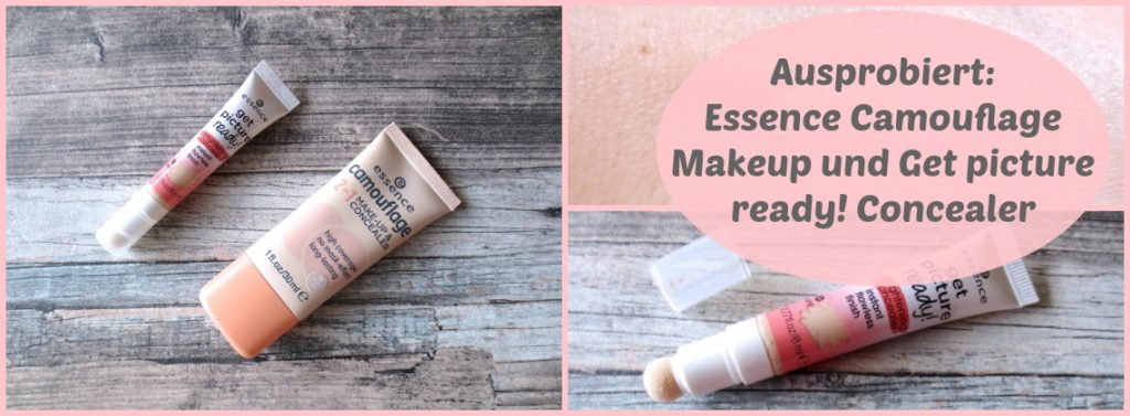Essence Teint Camouflage Makeup and get picture ready concealer collage