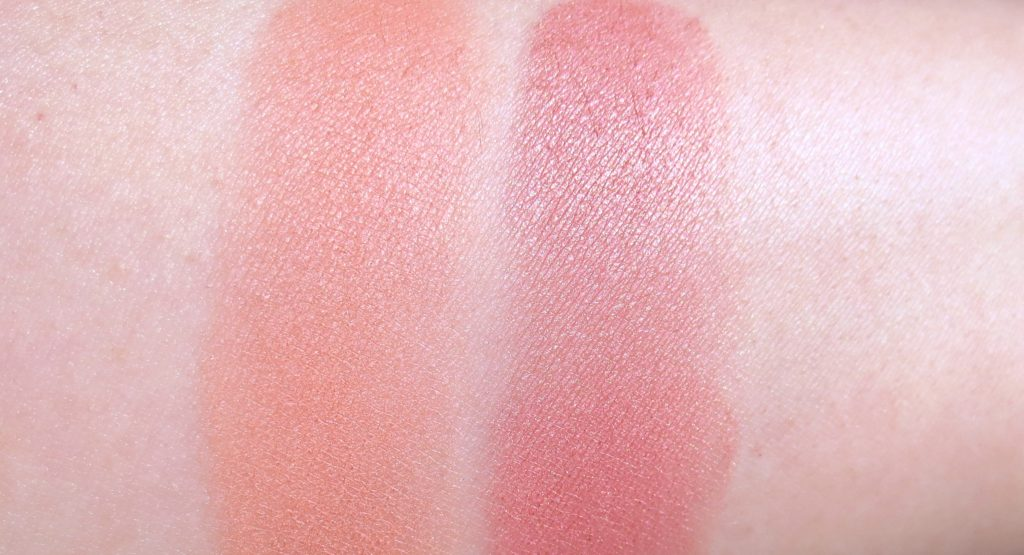 trend it up powder blush 020 und 050 Swatches