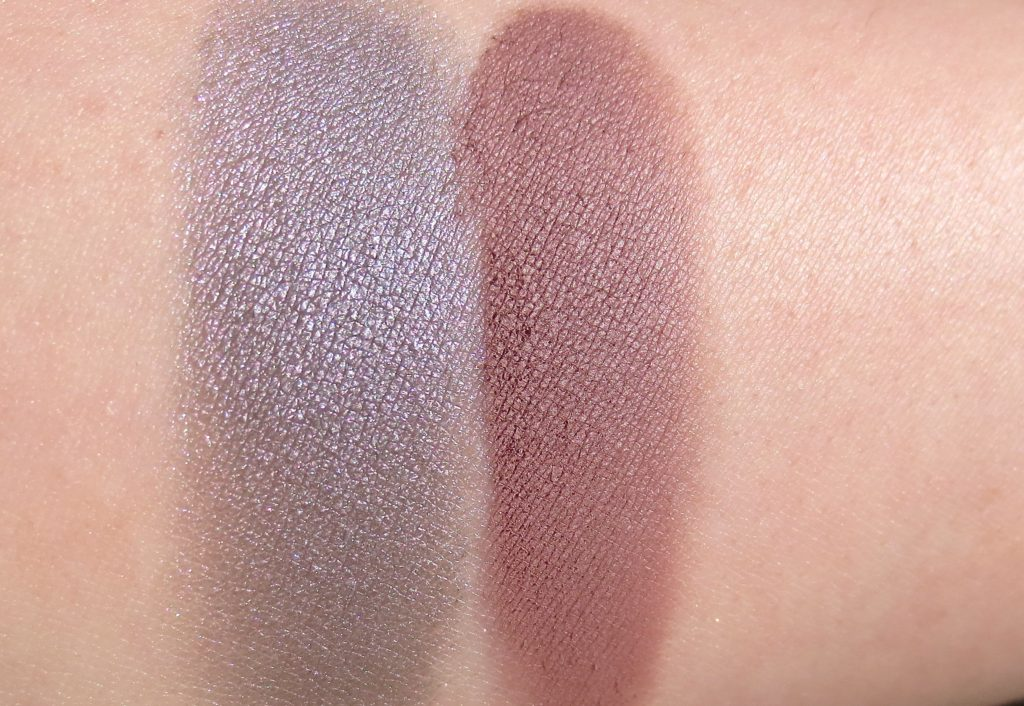 trend it up No 1 Eye Shadow 080 und 110 Swatches