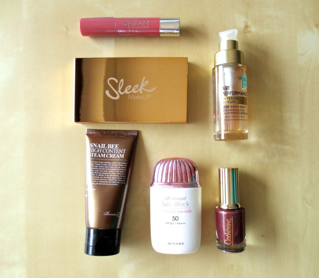 Sugarpeaches Beauty Favoriten August 2016