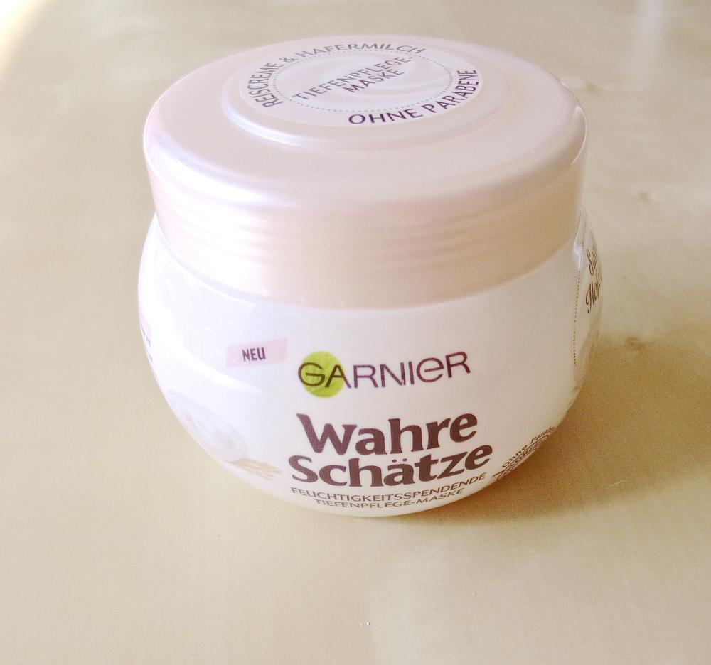 Garnier wahre Schätze sanfte Hafermilch Tiefenpflege-Maske