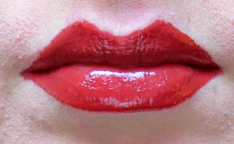 catrice neo natured maroon melange lipstick-swatch